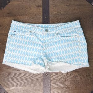 Gap Summer Cut Off Jean Shorts